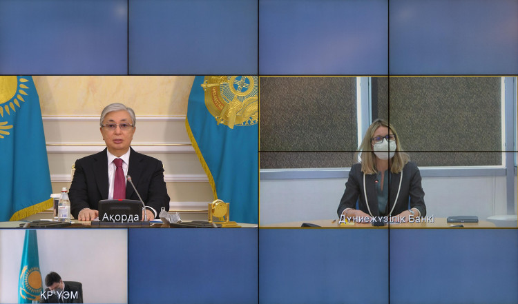 Kazakhstan President held a meeting with World Bank Vice President for Europe and Central Asia Anna Bjerde