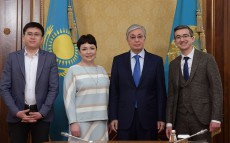 The Head of State met with social entrepreneurs