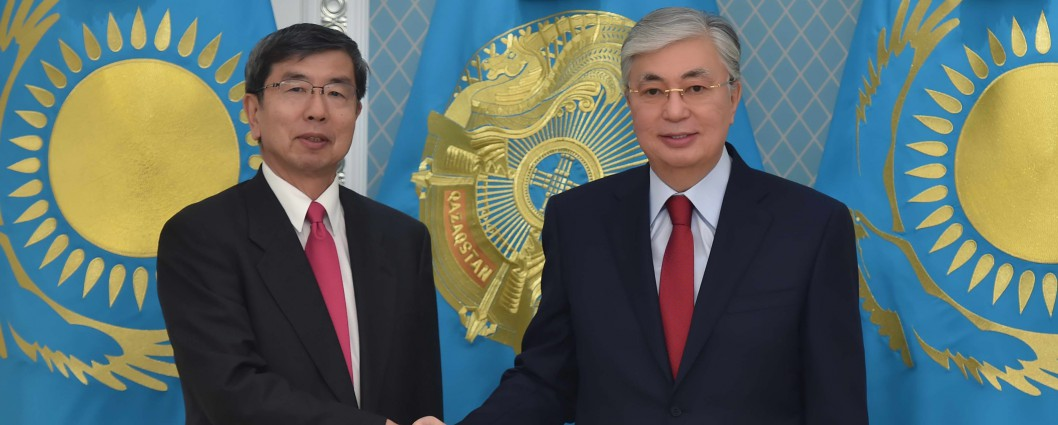 The Head of State received Takehiko Nakao, President of the Asian Development Bank