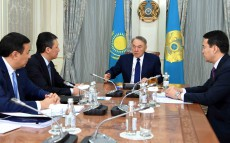 "Meeting with ""Atameken"" National Chamber of Entrepreneurs' leadership"