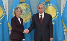 President Kassym-Jomart Tokayev received Foreign Minister of the Republic of Korea Kang Kyung-wha