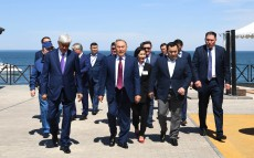 Working visit to Almaty region