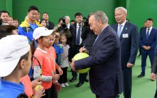 Visit to ACE Tennis Center