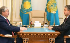 President Kassym-Jomart Tokayev received the newly appointed Ambassador of Kazakhstan to Russia Yermek Kosherbayev