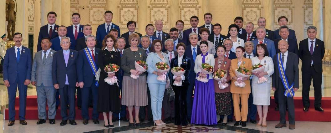 The Head of State took part in a solemn ceremony of awarding state awards and prizes