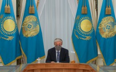 The President held a meeting with the akims
