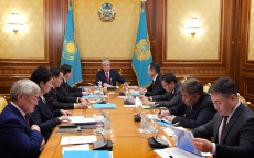 Meeting on social protection issues chaired by the President of Kazakhstan