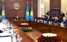 Expanded meeting of the Government with participation of the Head of State