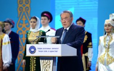 Participation in the National Forum of the Assembly of the People of Kazakhstan dedicated to the 25th anniversary of Independence of Kazakhstan