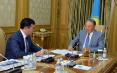 Meeting with Minister of Investment and Development Zhenis Kassymbek